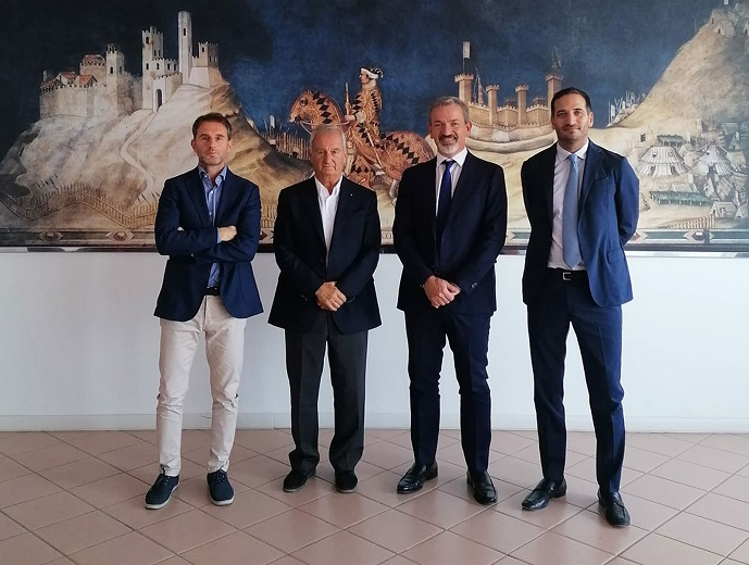 Duccio Boldrini, Massimo Boldrini, Simone Volpi ed Emiliano Spagnolo