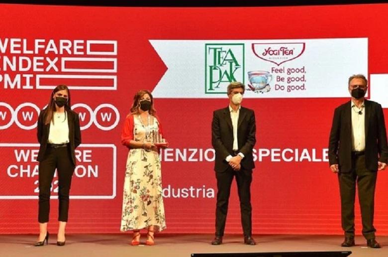 TeaPak riceve il premio Welfare Champion