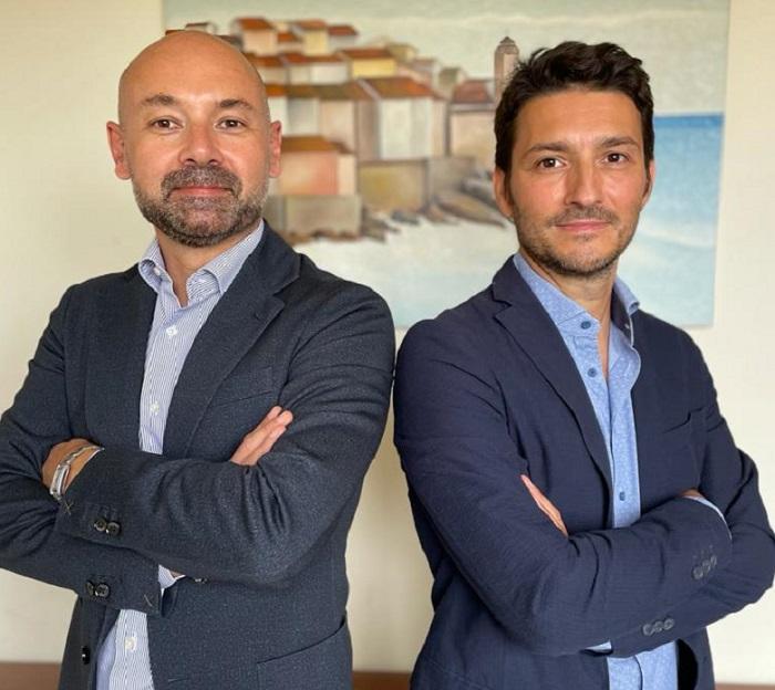 Riccardo Borsarini e Paolo Scapinelli, rispettivamente responsabile commerciale e Ceo della piattaforma MeckMarket