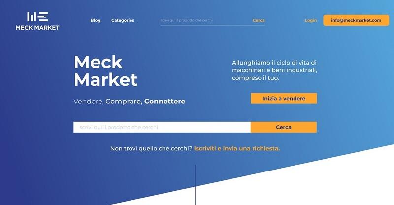 Home piattaforma MeckMarket
